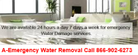 water removal services and water damage cleanup & restoration