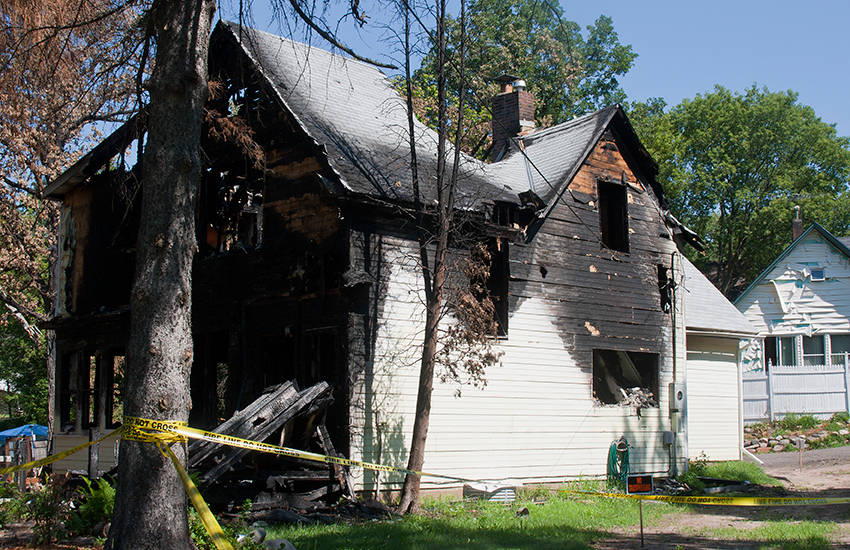 Fire Damage Clean Up and Restoration in Mount Prospect