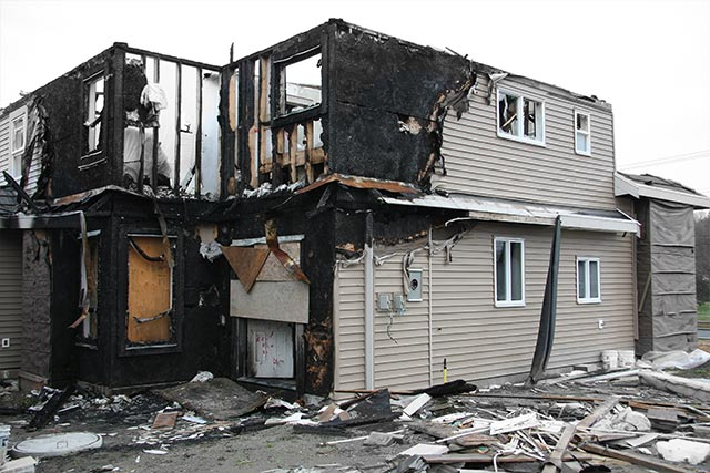 Fire Damage Clean Up in Deerfield, IL, Des Plaines, Mt. Prospect, Chicago